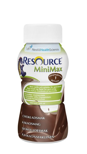 RESOURCE MINIMAX CHOKLAD 200ML