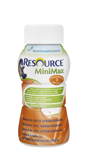 RESOURCEMINIMAX BANAN/APRIKOS 200ML