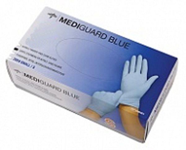 UNDERSÖKN HANDSKE NITRIL BLÅ XS