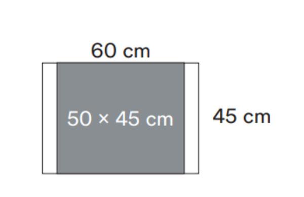 INCISIONSFILM 60X45CM TRANSP